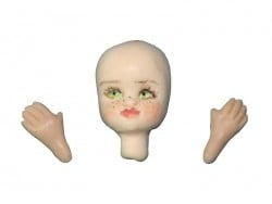 WePAM silicone mould with faces and hands