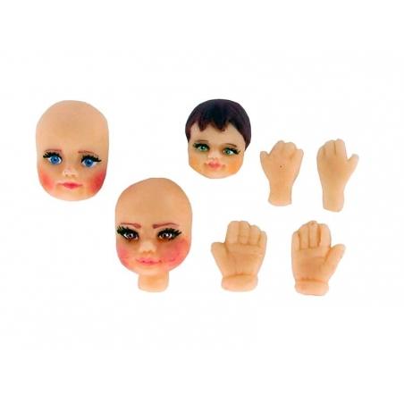 Acheter Moule 3 visages en silicone WePAM - 8,20€ en ligne sur La Petite Epicerie - Loisirs créatifs
