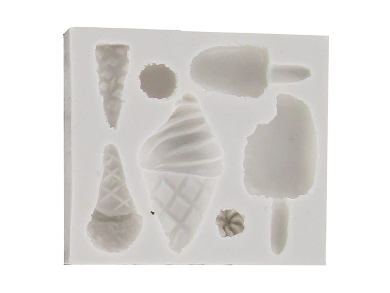 Ice-cream WePAM silicone mould