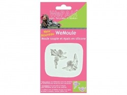 Moule Anges et cupidons en silicone WePAM