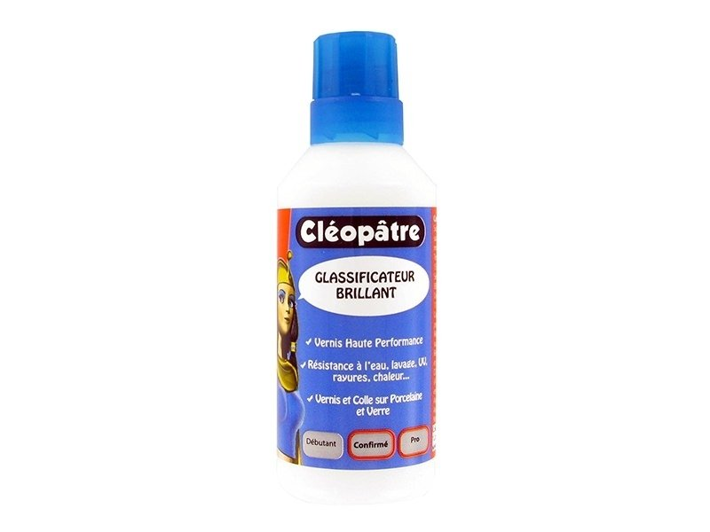 "Bright ""Glassificateur"" varnish - Cléopâtre 100 g"