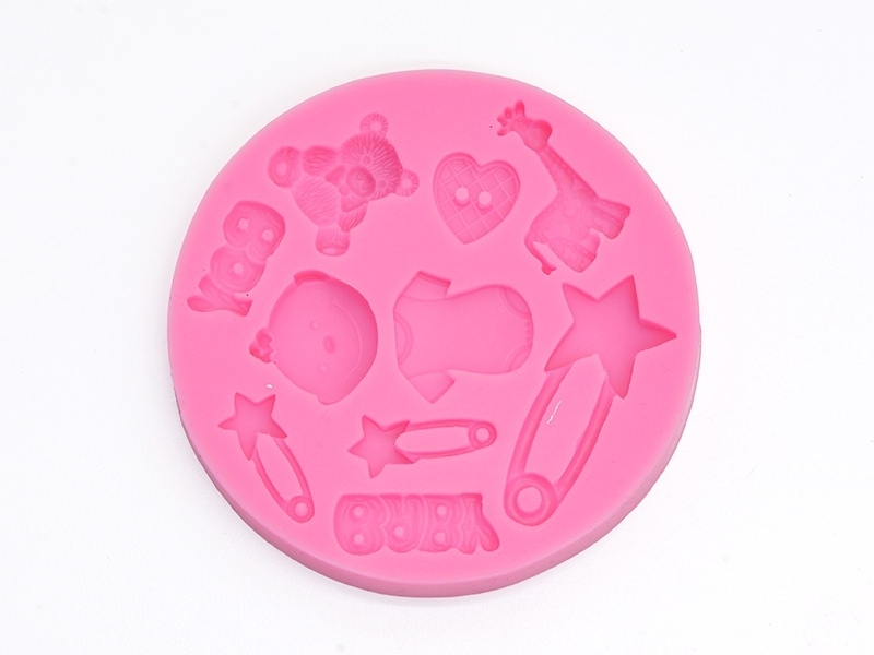 Silicone mould - baby boy