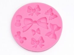 Silicone mould - beautiful bows