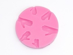 Silicone mould - hands