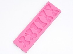 Silicone mould - large bows