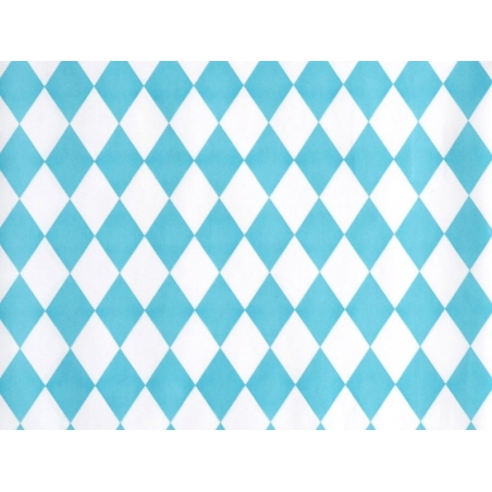 10 pochettes cadeaux - losanges bleus My little day - 2