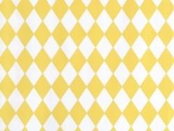 10 Geschenktüten - gelbe Rauten