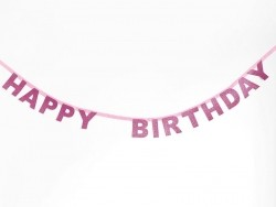 Guirlande Happy Birthday paillettes My little day - 1