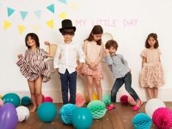 10 ballons My Little Day - Argenté