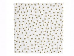 20 My Little Day paper napkins - Golden stars