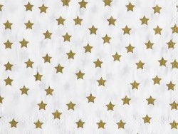 20 Papierservietten von My Little Day - goldfarbene Sterne
