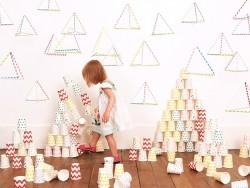 8 gobelets en papier My Little Day - Etoiles dorées