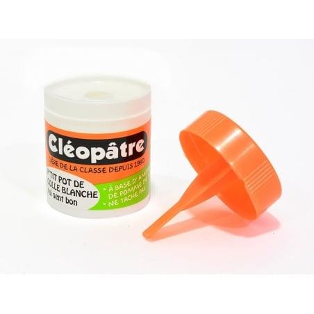 Acheter Colle blanche Cléopâtre odeur amande - 23 g - 0,49€ en ligne sur La Petite Epicerie - 100% Loisirs créatifs