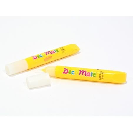 Acheter Lot de 2 faux Coulis decomate - jaune - 3,99€ en ligne sur La Petite Epicerie - Loisirs créatifs