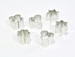 Acheter Lot de 6 minis emporte-pièces FIMO - 4,70€ en ligne sur La Petite Epicerie - Loisirs créatifs