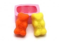 """Acheter Moule bonbon """"nounours"""" en silicone rose - 5,55€ en ligne sur La Petite Epicerie - 100% Loisirs créatifs"""