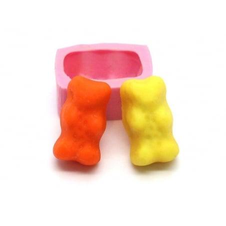 """Acheter Moule bonbon """"nounours"""" en silicone rose - 5,55€ en ligne sur La Petite Epicerie - Loisirs créatifs"""