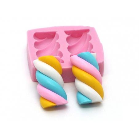 Acheter Moule deux guimauves en silicone rose - 5,60€ en ligne sur La Petite Epicerie - Loisirs créatifs