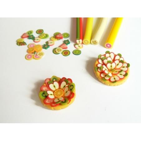 Acheter Cane kiwi - en pâte polymère - 0,99€ en ligne sur La Petite Epicerie - Loisirs créatifs