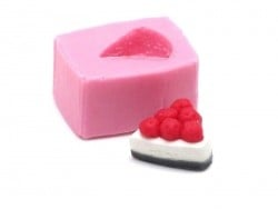 Small cherry cake silicone mould