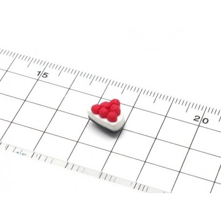 Acheter mini moule tarte aux cerises en silicone - 4,55€ en ligne sur La Petite Epicerie - Loisirs créatifs