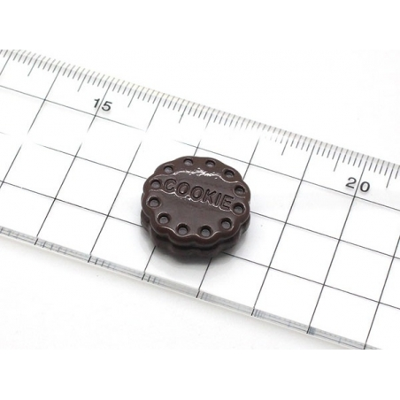 "Moule biscuit ""cookie"" en silicone  - 4"