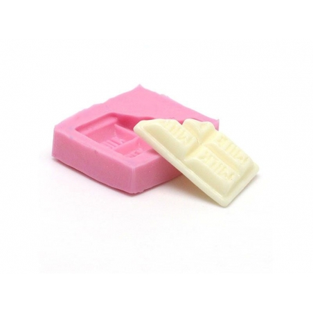 """Chocolate silicone mould with the word """"milk"""""""