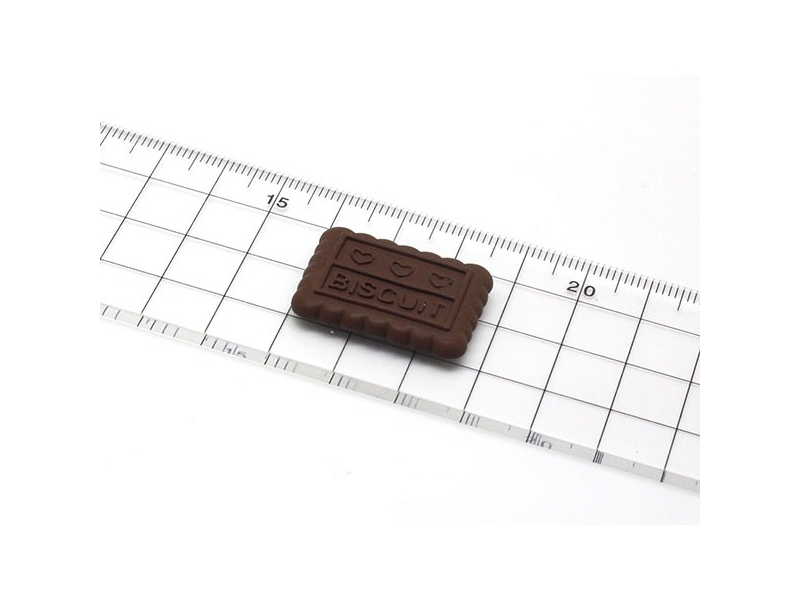 "Biscuit silicone mould with the word ""biscuit"""