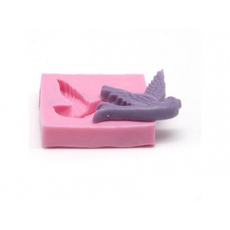 Flying bird silicone mould