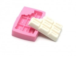 Chocolate bar silicone mould