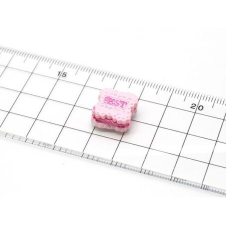 """Acheter Mini moule gateau fourré """"best"""" en silicone - 4,65€ en ligne sur La Petite Epicerie - Loisirs créatifs"""