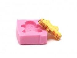 Acheter Moule bonhomme de pain d'épice en silicone - 5,15€ en ligne sur La Petite Epicerie - Loisirs créatifs
