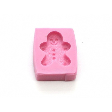 Gingerbreadman silicone mould