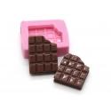 Mini moule tablette de chocolat en silicone
