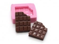 Acheter Mini moule tablette de chocolat en silicone - 5,15€ en ligne sur La Petite Epicerie - 100% Loisirs créatifs