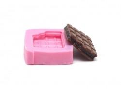 Kleine Schokoladentafelform aus Silikon