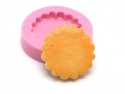 Shortbread biscuit silicone mould