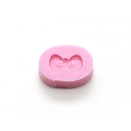 Flat bow silicone mould