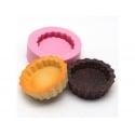 Moule base de tarte ronde en silicone