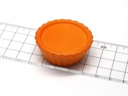 Grand moule base de tarte ronde en silicone    - 4