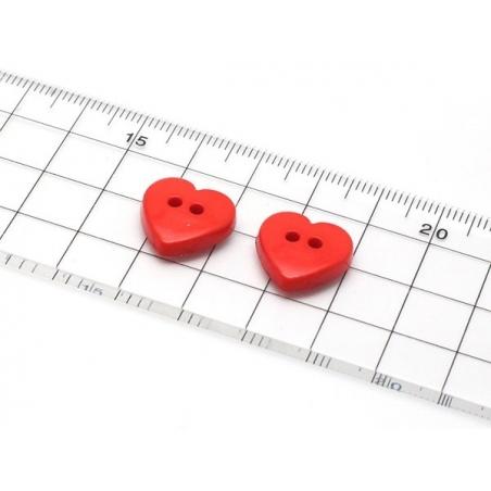 Moule boutons coeur en silicone  - 4