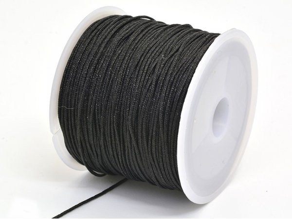 Acheter 35 m de fil de jade / fil nylon tressé 1 mm - noir - 5,99€ en ligne sur La Petite Epicerie - Loisirs créatifs
