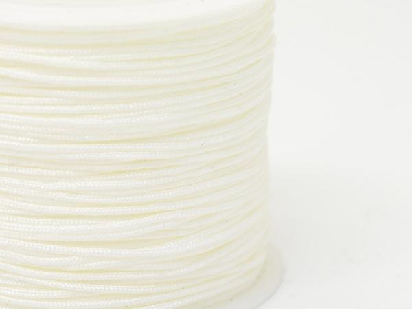 Acheter 1 m de fil de jade / fil nylon tressé 1 mm - blanc - 0,49€ en ligne sur La Petite Epicerie - Loisirs créatifs