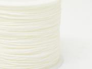 1 m de fil de jade / fil nylon tressé 1 mm - blanc