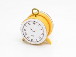 Retro alarm clock stamp - clock