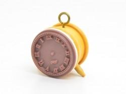 Tampon réveil rétro - horloge
