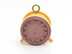 Retro alarm clock stamp - clock