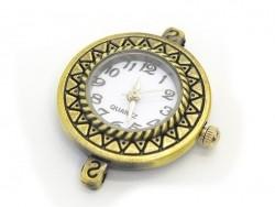 Watchcase, 2.9 cm - bronze-coloured