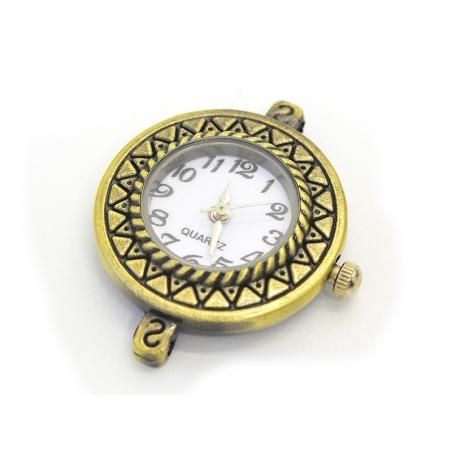 Cadran de montre 2,9 cm - bronze