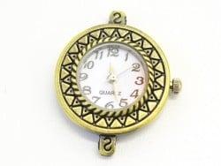 Uhrengehäuse - 2,9 cm - bronzefarben